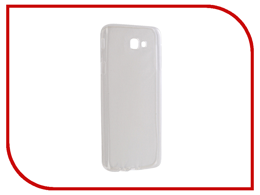 Аксессуар Чехол Samsung Galaxy J5 Prime SM-G570F Krutoff Silicone Transparent 11795 крышка задняя для samsung g570f galaxy j5 prime