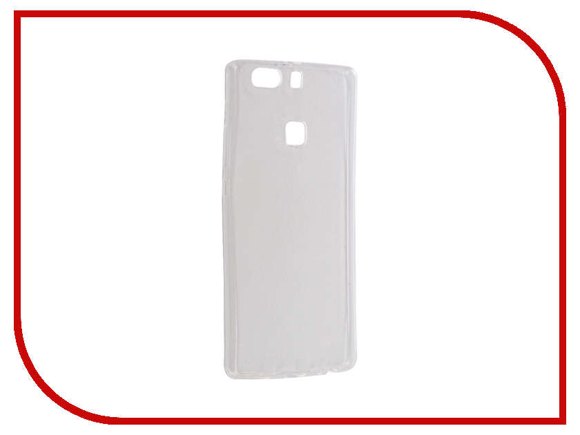 Аксессуар Чехол Huawei P9 Plus Krutoff Silicone Transparent 11798 аксессуар чехол krutoff для iphone 6 plus transparent 10676