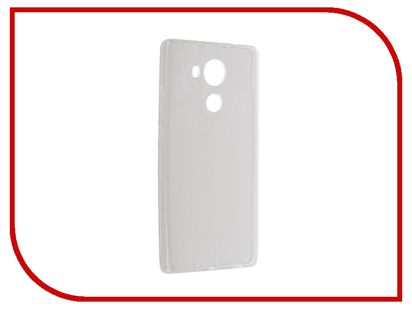 все цены на  Аксессуар Чехол Huawei Mate 8 Krutoff Silicone Transparent 11799  онлайн