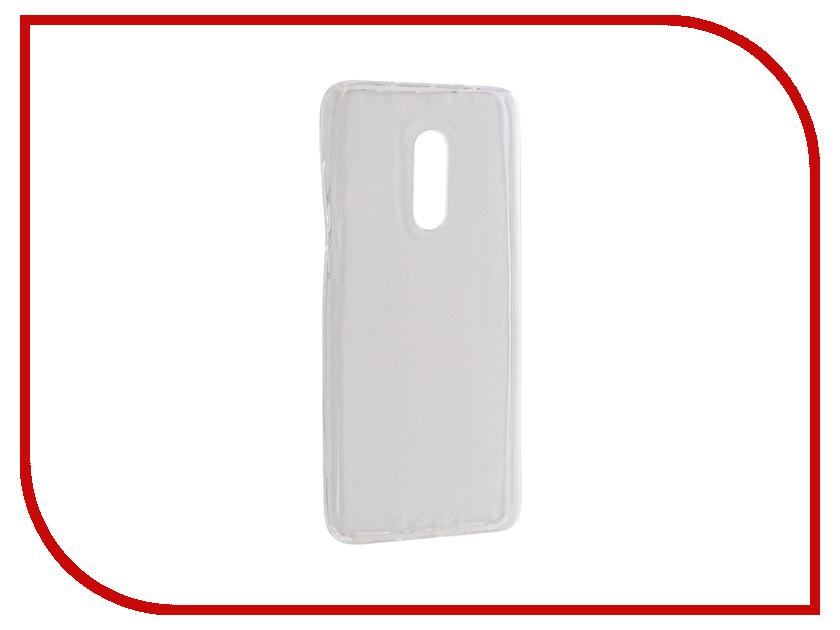 Аксессуар Чехол Xiaomi Mi Redmi Note 4 Krutoff Silicone Transparent 11801