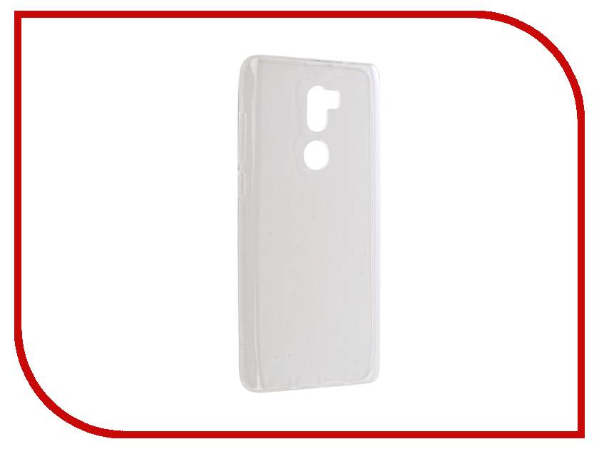Аксессуар Чехол Xiaomi Mi5s Plus Krutoff Silicone Transparent 11800 аксессуар чехол krutoff для iphone 6 plus transparent 10676