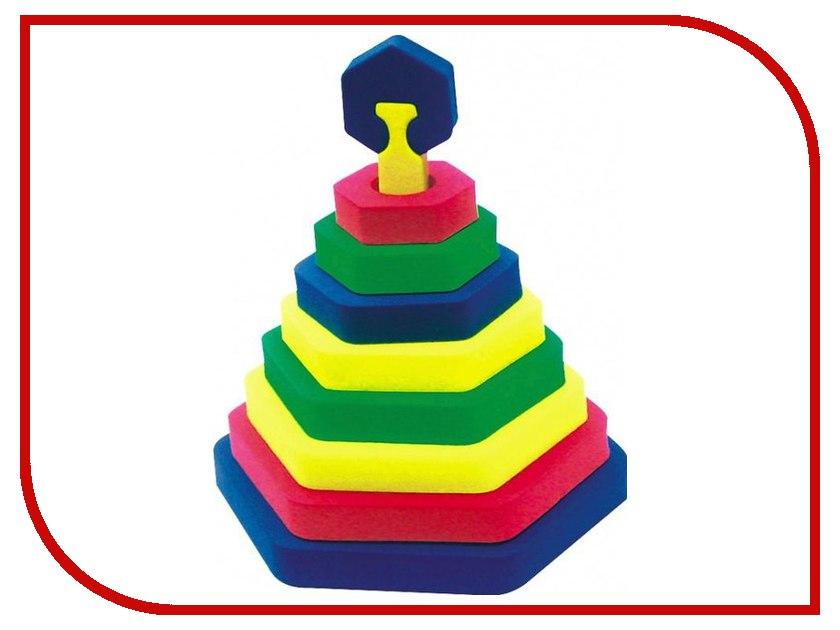 Игрушка Бомик Пирамида шестиугольник 322