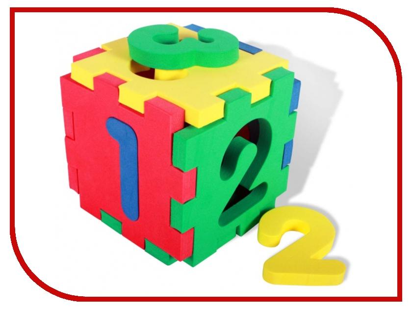 Игрушка Бомик Кубик-цифры 502 сортеры бомик кубик мозаика силуэты