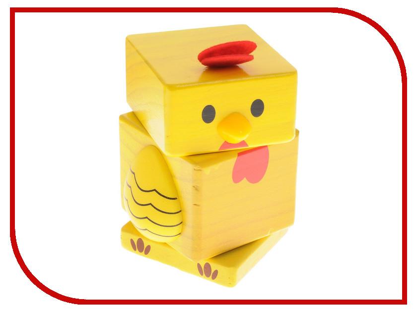 Игрушка Бомик Пирамидка Цыпленок 808 малышарики развивающая игрушка питомец цыпленок