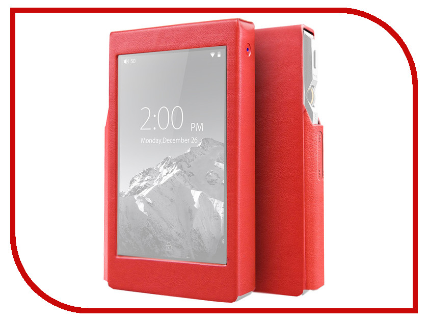 Чехол Fiio X5 III Red цена и фото