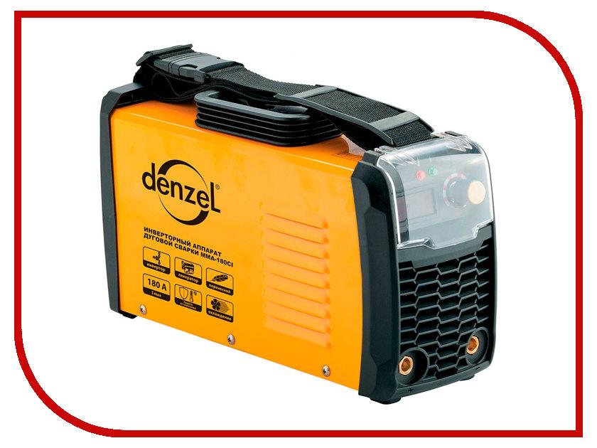 Сварочный аппарат Denzel MMA-180CI 94338 сварочный аппарат калибр спи 180а