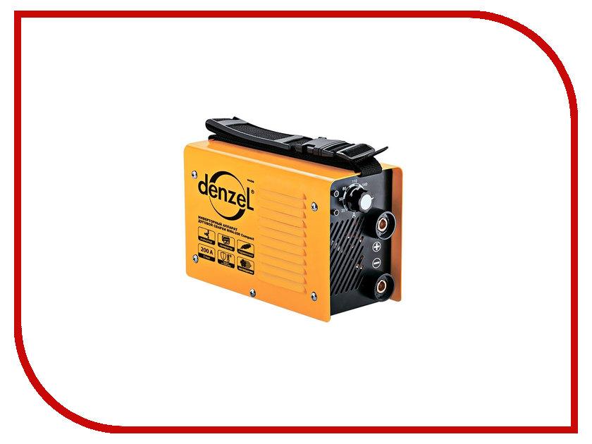 Сварочный аппарат Denzel MMA-200 Compact 94336 сварочный аппарат калибр спи 180а