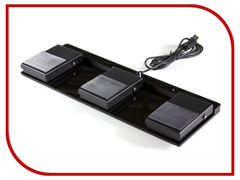 Педали Scythe USB Foot Switch Triple II USB-3FS-2 от Pleer