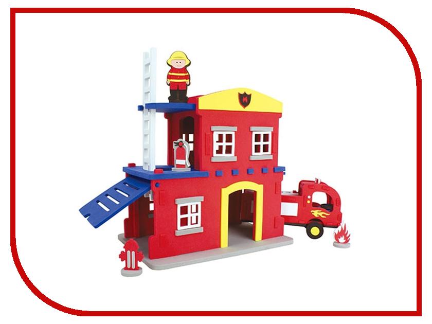 Конструктор Bebox Пожарная станция 124шт M5910