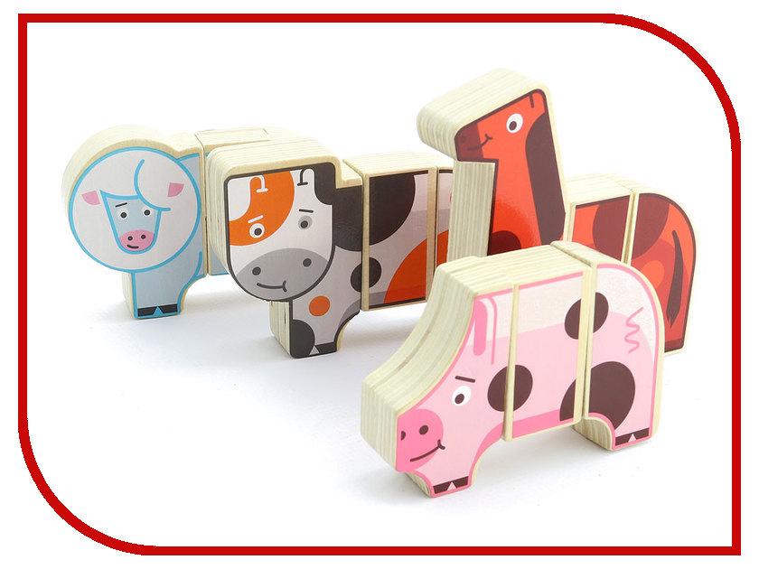 Игрушка Мир деревянных игрушек Магнитные фигуры Ферма Д004 мир деревянных игрушек мир деревянных игрушек фигуры магнитные транспорт
