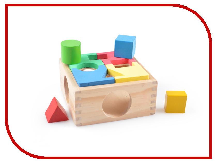 Игрушка Мир деревянных игрушек Занимательная коробка Д029