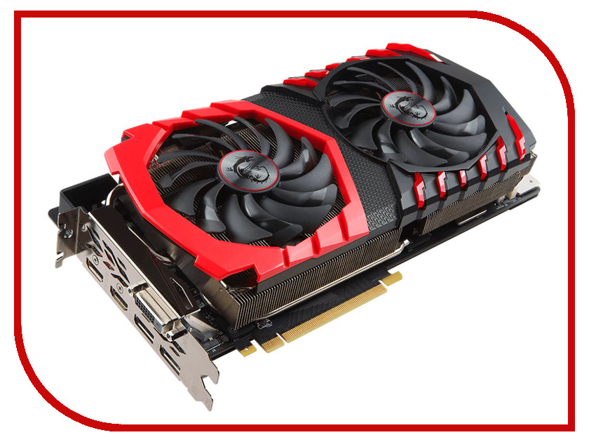 Видеокарта MSI GeForce GTX 1080 Ti 1569Mhz PCI-E 3.0 11264Mb 11124Mhz 352 bit DVI 2xHDMI GTX 1080 Ti GAMING X 11G видеокарта msi geforce gtx 1050 ti gaming x 4g