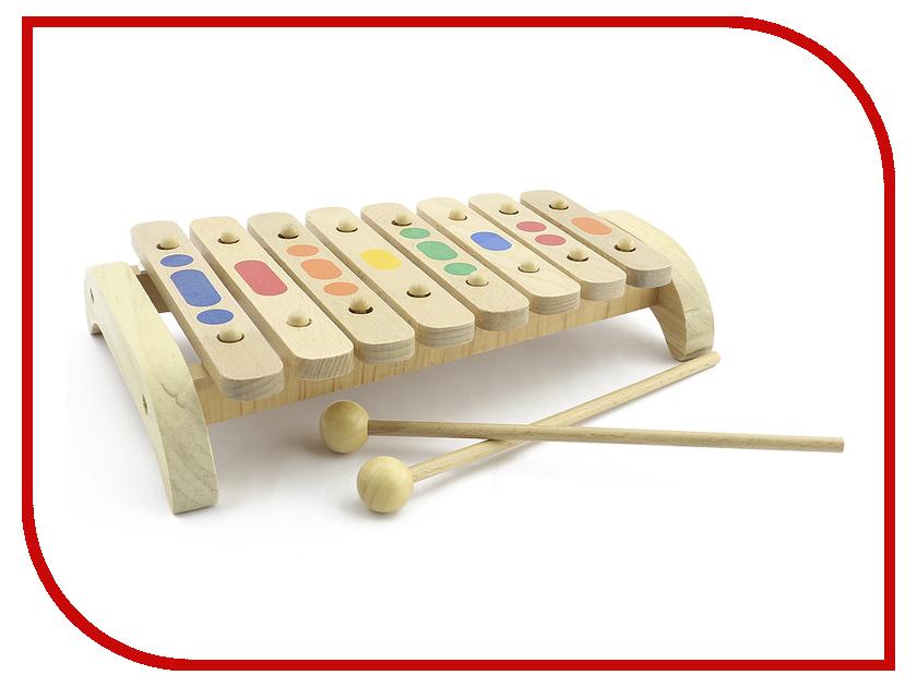 Детский музыкальный инструмент Мир деревянных игрушек Ксилофон 8 тонов дерево Д045<br>