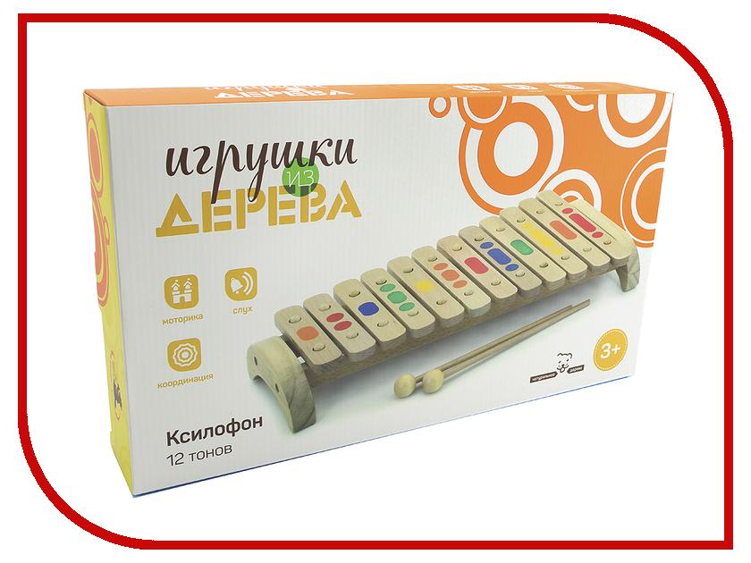 Детский музыкальный инструмент Мир деревянных игрушек Ксилофон Д046