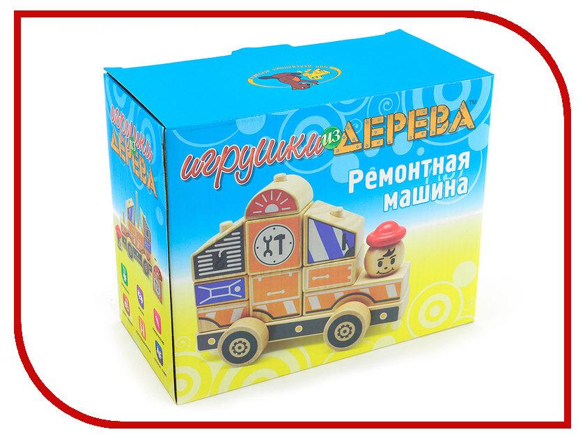 Конструктор Мир деревянных игрушек Автомобиль 3 Д061 набор музыкальных инструментов мир деревянных игрушек 3