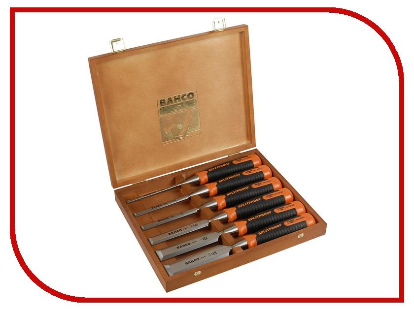 Инструмент Набор стамесок BAHCO Profi Ergo 434-S6-EUR стамеска bahco profi ergo 434 14