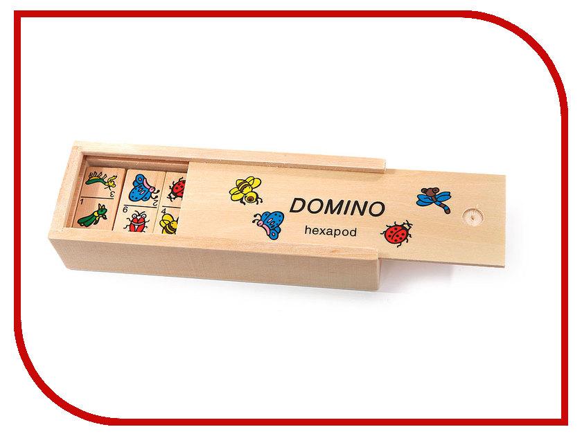Настольная игра Мир деревянных игрушек Домино Природа Д090