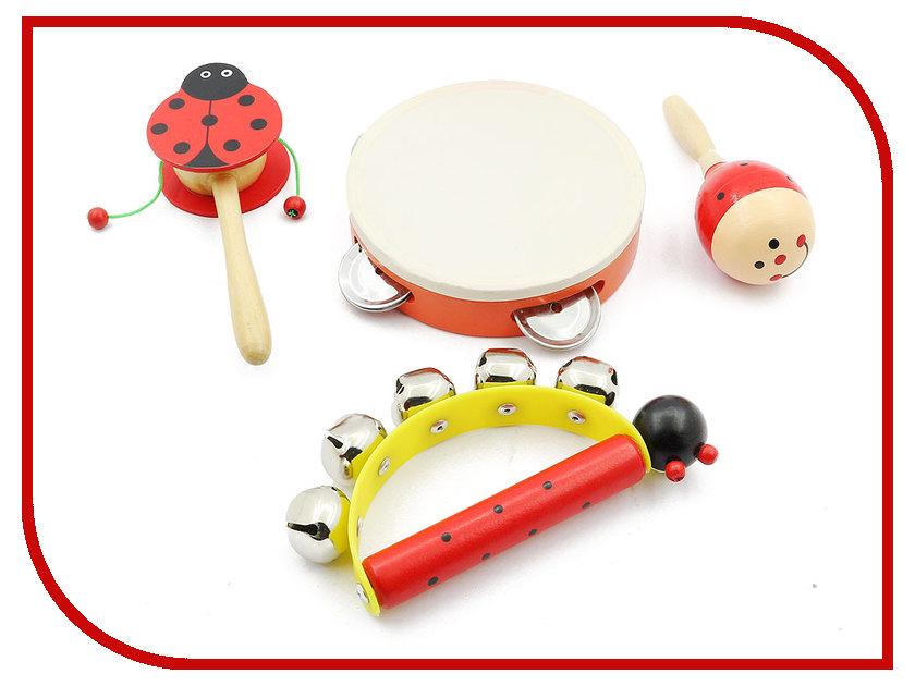 Детский музыкальный инструмент Мир деревянных игрушек Музыкальный набор 1 Д093