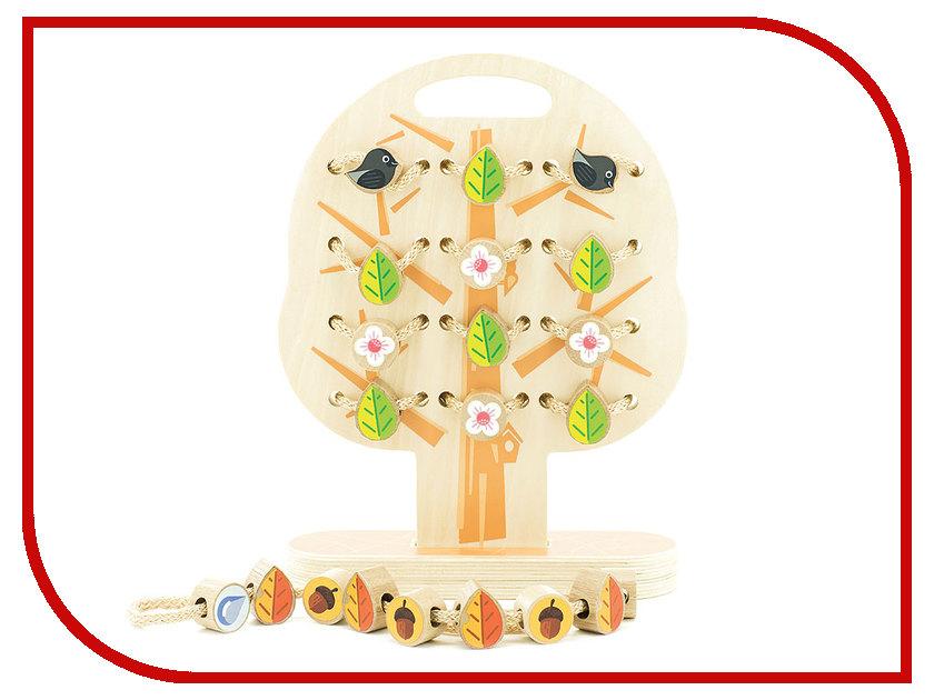 Игрушка Мир деревянных игрушек Дерево-шнуровка Д104 набор музыкальных инструментов мир деревянных игрушек 3