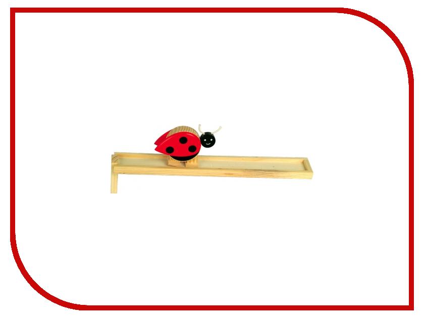 Игрушка Мир деревянных игрушек Горка Божья коровка Д109 бк 04 магнит божья коровка 35мм 780420