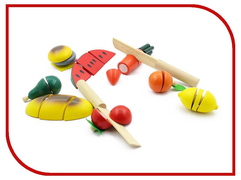 Игрушка Мир деревянных игрушек Готовим завтрак средний Д168 ecosapiens