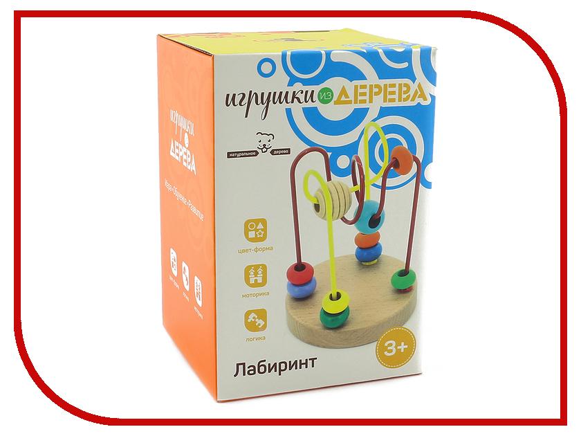 Игрушка Мир деревянных игрушек Лабиринт №4 Д192 игрушка мир деревянных игрушек лабиринт буренка д384