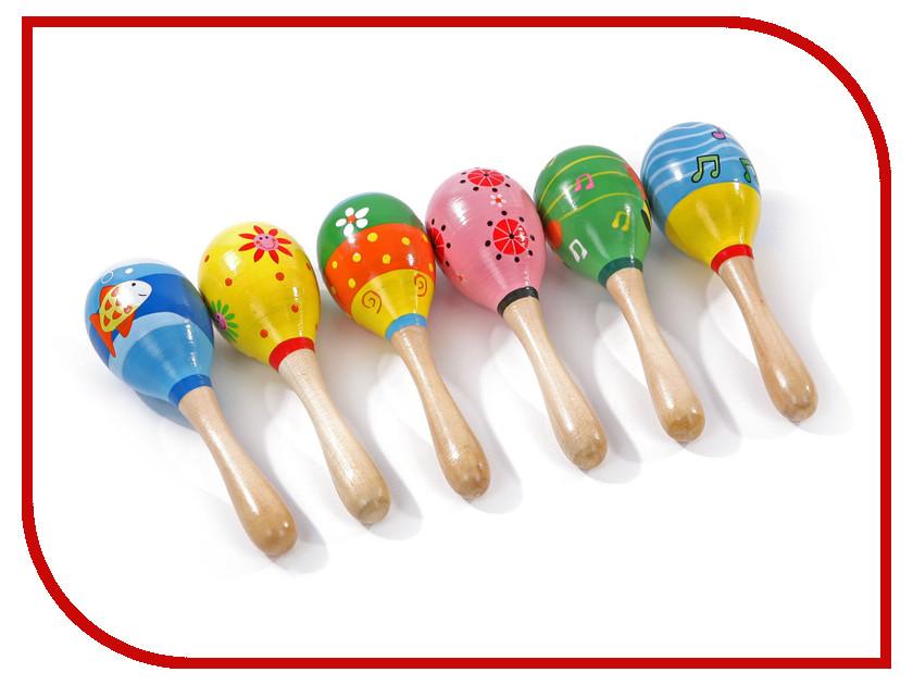 Игрушка Мир деревянных игрушек Маракасы маленькие Д208