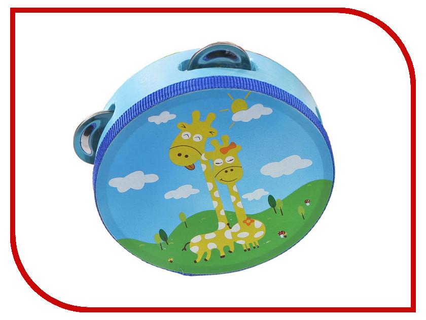 Детский музыкальный инструмент Мир деревянных игрушек Бубен Д212