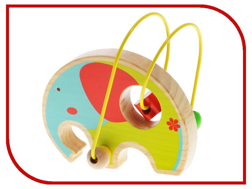Игрушка Мир деревянных игрушек Лабиринт Слон Д345 игрушка мир деревянных игрушек лабиринт буренка д384