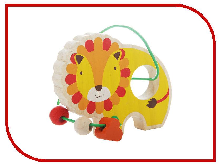 Игрушка Мир деревянных игрушек Лабиринт Лев Д347 игрушка мир деревянных игрушек лабиринт каталка крокодил д362