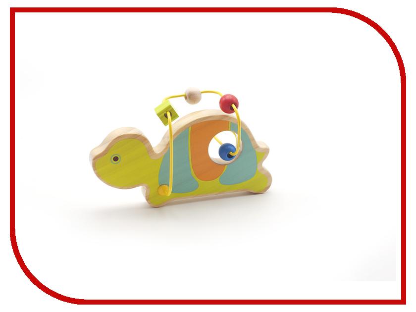 Игрушка Мир деревянных игрушек Лабиринт Черепаха Д349 игрушка мир деревянных игрушек лабиринт каталка крокодил д362