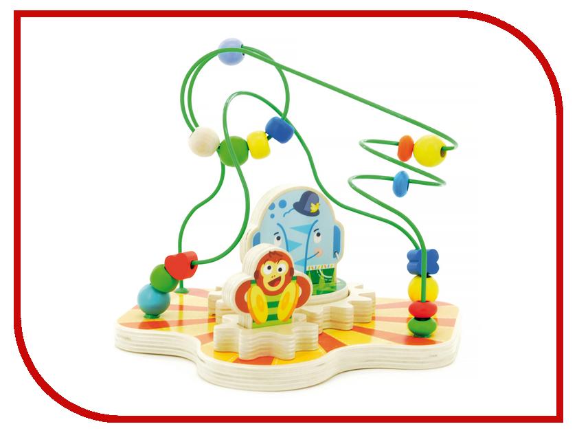 Игрушка Мир деревянных игрушек Сортер лабиринт Цирк Д381 мир деревянных игрушек цирк
