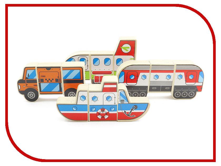 Игрушка Мир деревянных игрушек Магнитные фигуры Транспорт Д383
