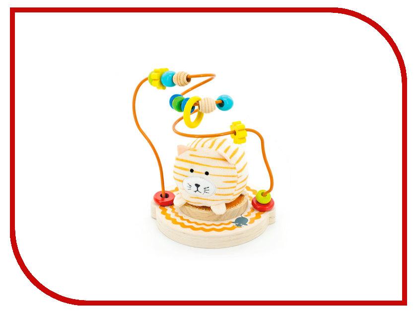 Игрушка Мир деревянных игрушек Лабиринт Мурлыка Д387 игрушка мир деревянных игрушек лабиринт каталка крокодил д362