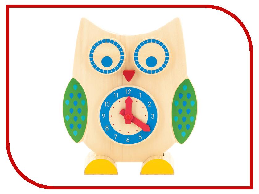 Игрушка Мир деревянных игрушек Сова часы и счеты Д391 игрушка мир деревянных игрушек лабиринт слон д345