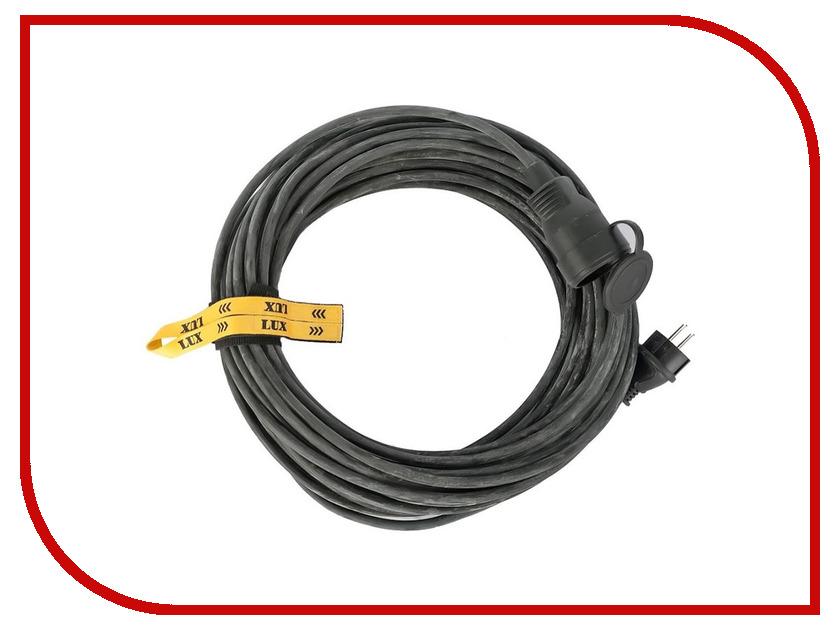 Удлинитель LUX УС1-Е-20 У-161 1 Socket 20m 30020