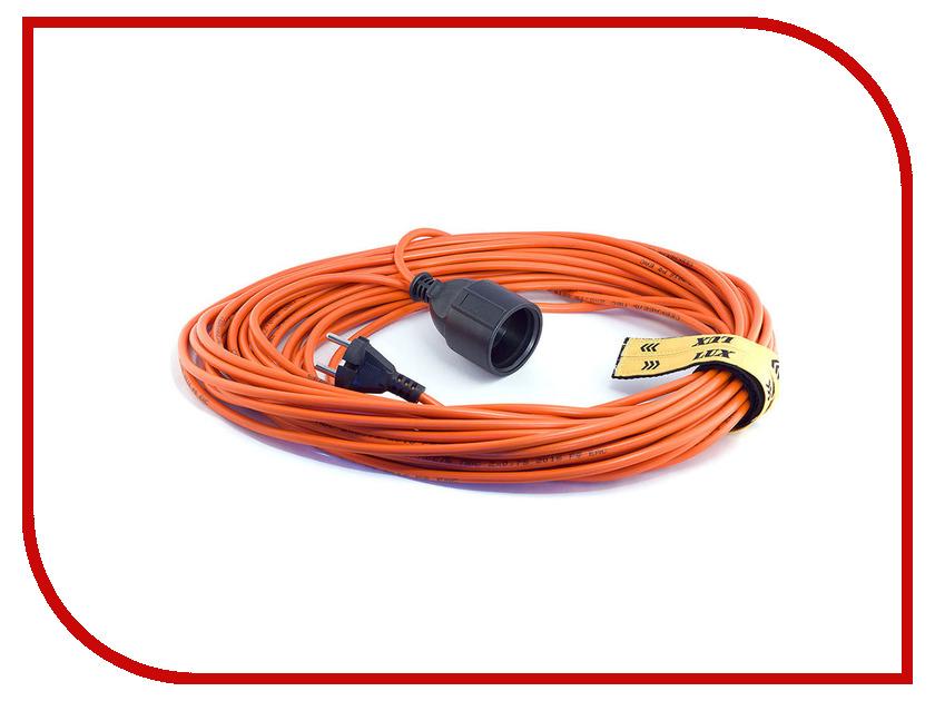Удлинитель LUX УС1-Е-50 У-161 1 Socket 50m 16150 удлинитель lux 22150 к1 е 50 50m 10a