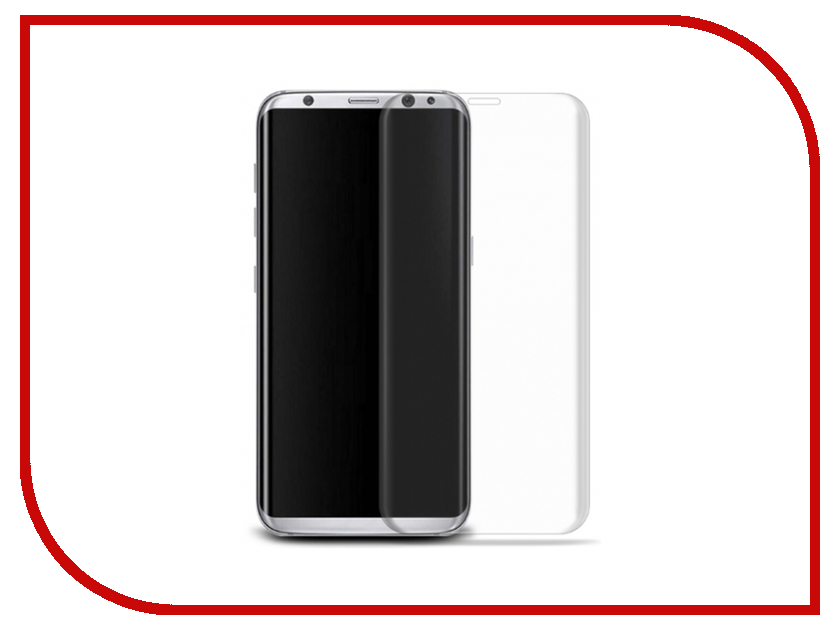 Аксессуар Защитное стекло Samsung Galaxy S8 Ainy Full Screen Cover 0.2mm 3D Transparent аксессуар защитное стекло samsung galaxy s8 smarterra full cover glass black sfcgs8bk