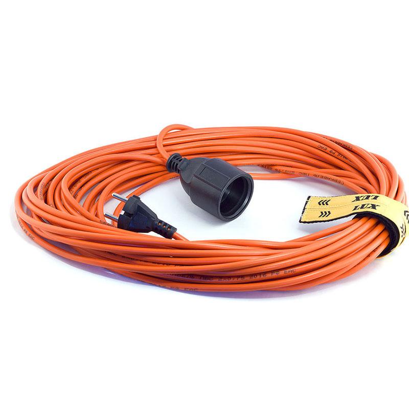 Удлинитель LUX УС1-Е-10 У-161 1 Socket 10m 16110