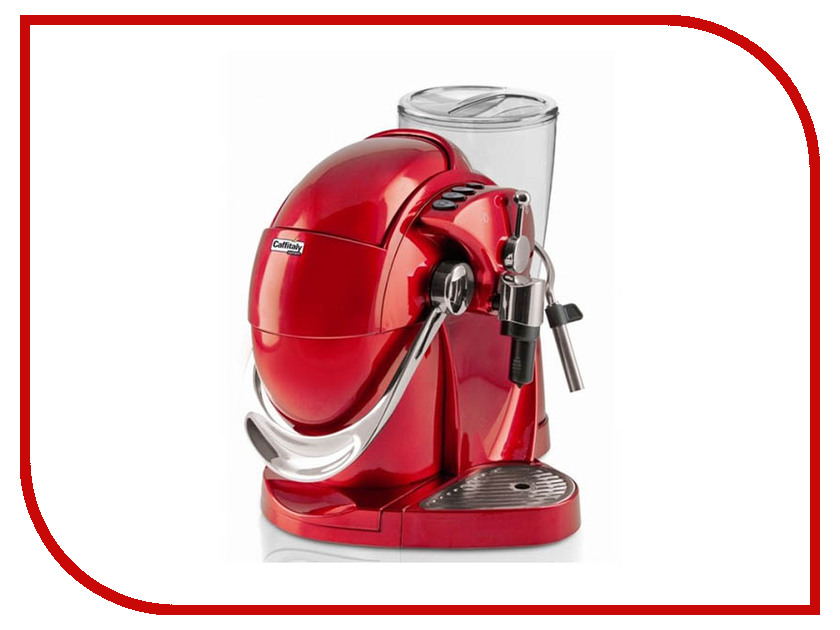 Кофеварка Caffitaly System Nautilus S06 Red system