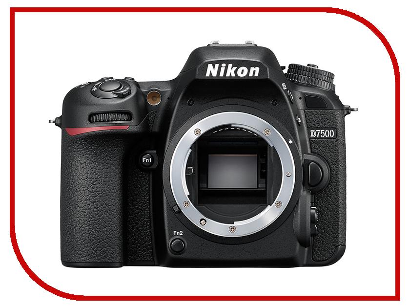 Фотоаппарат Nikon D7500 Body фотоаппарат nikon d7100 body
