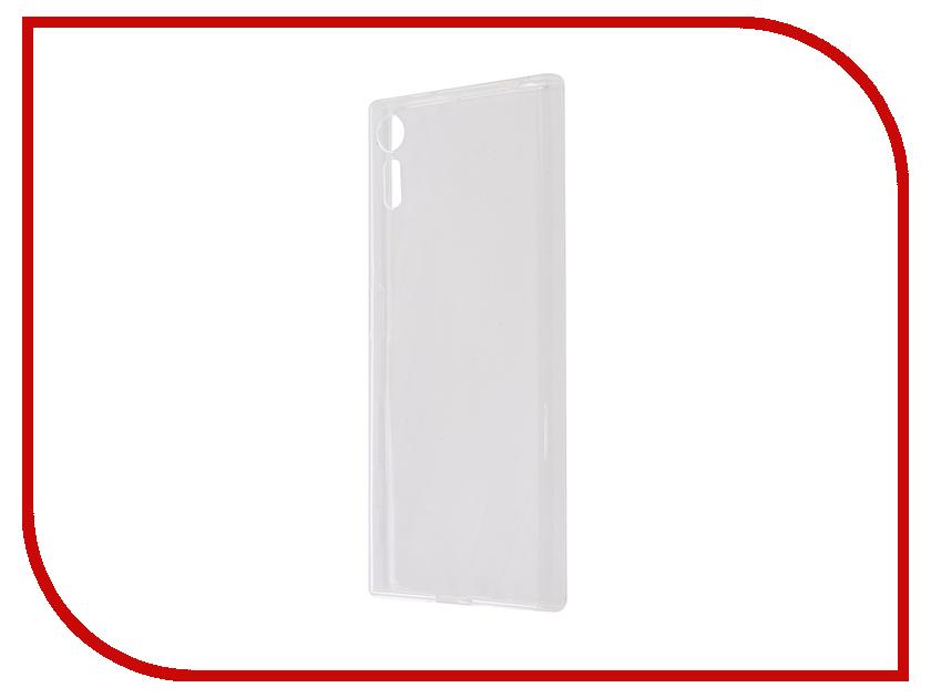Аксессуар Чехол Svekla for Sony Xperia XZs G8231/G8232 Silicone Transparent SV-SOG8231-WH аксессуар чехол lenovo vibe c2 k10a40 svekla transparent sv lek10a40 wh