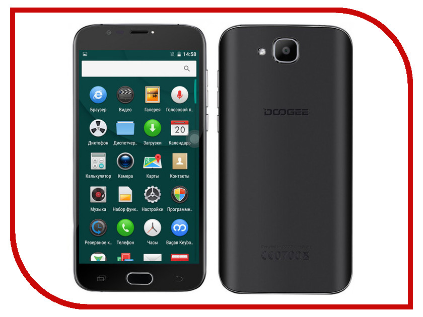 Сотовый телефон DOOGEE X9 Mini Black велосипед kross hexagon x9 2013