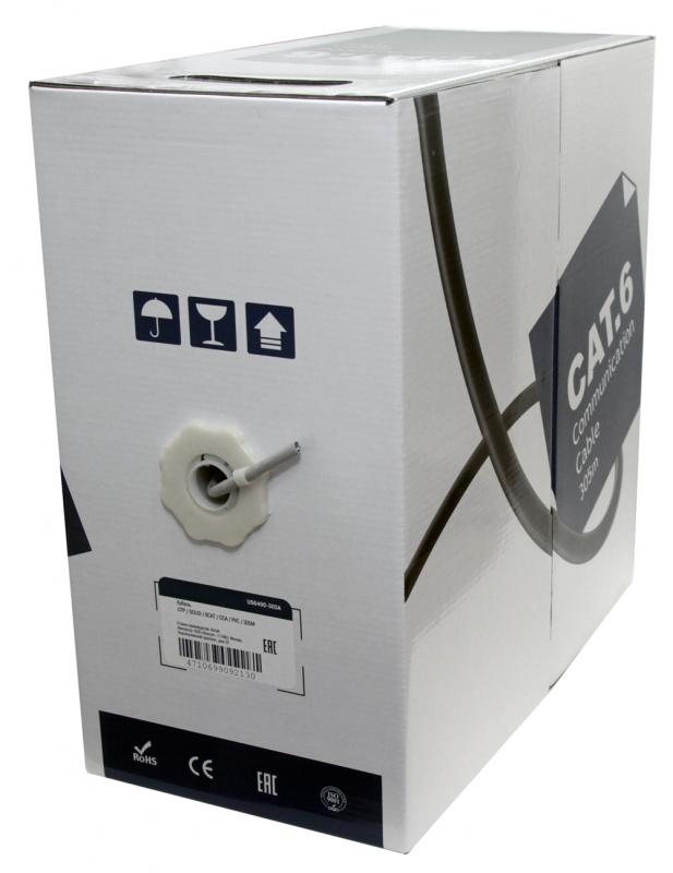 Сетевой кабель 5bites UTP / SOLID 6CAT CCA PVC 305M US6400-305A