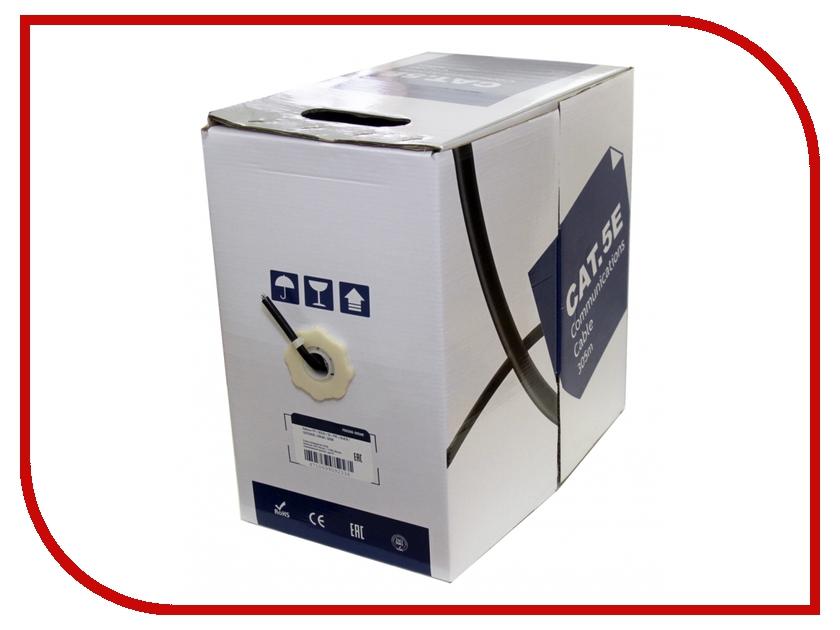 Сетевой кабель 5bites FTP / SOLID / 5E / CCAG / PVC / BLACK / OUTDOOR / 305M FS5500-305AE