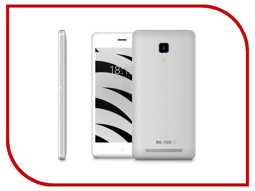 Сотовый телефон BQ 4526 Fox Space Silver купить телефон сотовый тексет