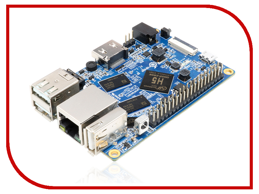 Мини ПК ORANGE PI PC2 мини пк raspberry pi 3 model b 1gb
