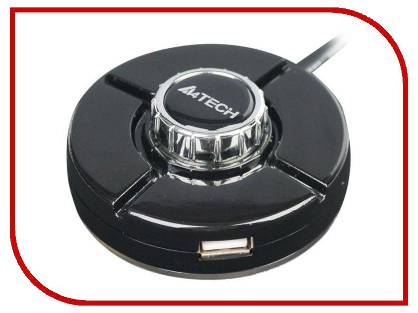 Хаб USB A4Tech USB 4 ports HUB-66 Black