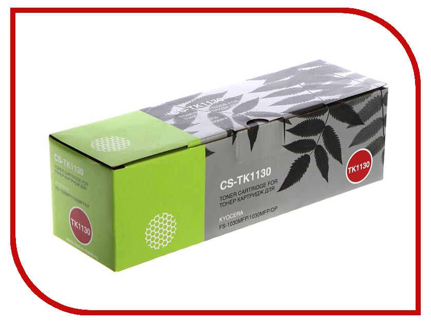 Картридж Cactus CS-TK1130 Black для Kyocera FS-1030/1130 3000 стр картридж cactus 520 cs pgi520bk black