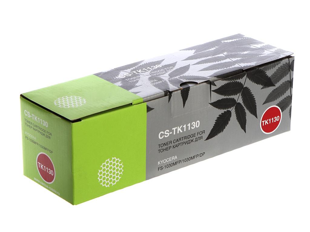 Картридж Cactus CS-TK1130 Black для Kyocera FS-1030/1130 3000 стр